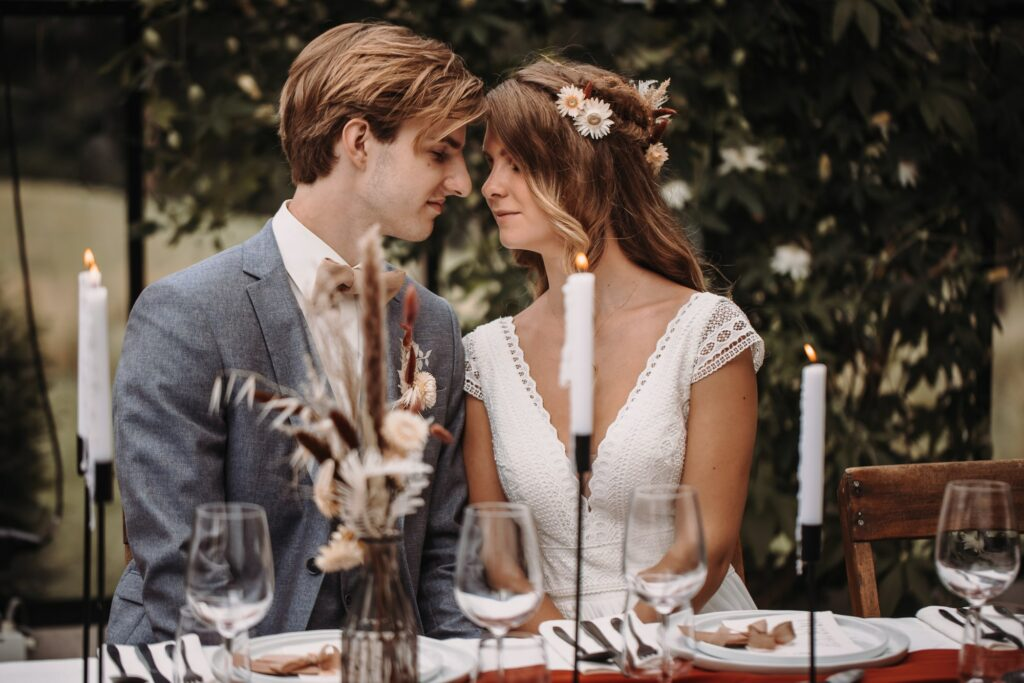 Romantisch moment